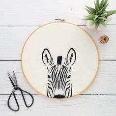 crewel embroidery kits for beginners Crewel Embroidery Kits, Embroidery Materials, Embroidery Stitches Tutorial, Hand Work Embroidery, Hand Embroidery Patterns, Embroidery Supplies, Embroidery Thread, Machine Embroidery, Geometric Embroidery