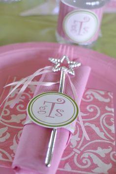 Pink and green princess party #pinkgreen #princessparty