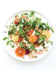 Sweet Paul's Watercress Salad with Blood Orange Vinaigrette Recipe