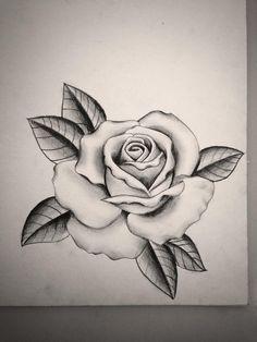 Bildergebnis für tattoo rose vorlage
