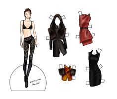 Fashion Paper Dolls | final fashion » paper doll – Jeremy Laing Fall 2010