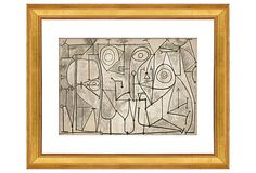 Picasso, The Kitchen - McGaw Graphics
