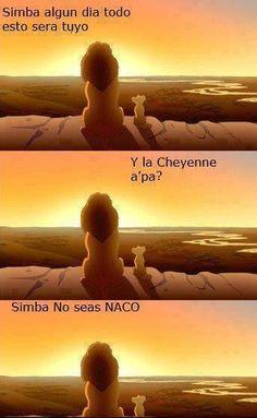 Y la Cheyenne apá?