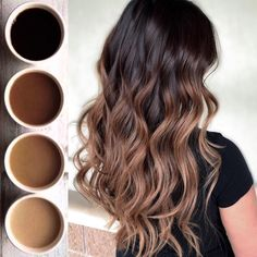 Are you going to balayage hair for the first time and know nothing about this technique? We've gathered everything you need to know about balayage, check! Brown Hair Balayage, Hair Color Balayage, Hair Highlights, Ombre Hair Color For Brunettes, Black Balayage, Sombre Hair Brunette, Hair Color Ideas For Brunettes Chocolates, Brunette Hair Colors, Caramel Highlights On Dark Hair