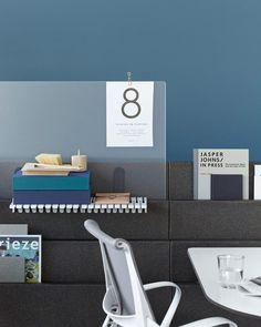 studio 7.5 + herman miller's 'metaform portfolio' is an organizing office block
