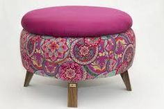 Recycled Furniture: Ideas Chairs, Ottoman And Tables Made From Tires - Decorating Ideas - Home Decor Ideas and Tips