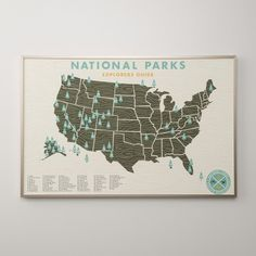 National Parks Print | Art | Accessories