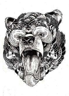 http://abduzeedo.com/wild-life-ink-illustrations