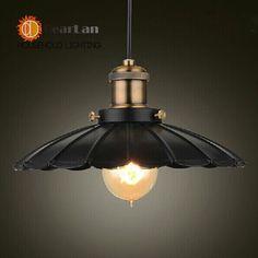 $43.98 (Buy here: https://alitems.com/g/1e8d114494ebda23ff8b16525dc3e8/?i=5&ulp=https%3A%2F%2Fwww.aliexpress.com%2Fitem%2FDiameter-250MM-Vintage-American-Country-Style-Black-Pendant-Lights-Lamps-Lighting-E27-110V-220V-Edison-Bulb%2F2012223425.html ) Diameter 25/35CM Vintage American Country Style Black Pendant Light/Lamps E26/E27/110V/220V Pendant Lights(DK-55) for just $43.98