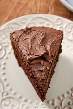 The Best Chocolate Cake Recipe ~ chocolate cake perfection!