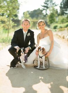 #dogs Photography by aarondelesie.com Design + Planning by xoxobride.com Floral Design by mindyrice.com  Read more - http://www.stylemepretty.com/2012/10/15/ojai-wedding-from-aaron-delesie-mindy-rice-xoxo-bride/