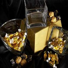 Glass Candy Bowl with Your Logo - corporate gifts