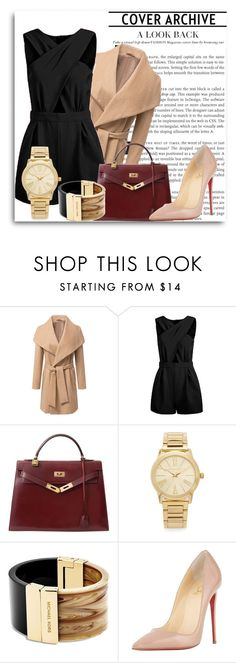 """Untitled #148"" by vassiascissors ❤ liked on Polyvore featuring Hermès, Michael Kors, Christian Louboutin, women's clothing, women, female, woman, misses and juniors"