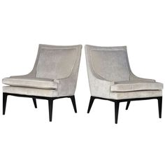 Elegant Lounge Chairs | From a unique collection of antique and modern lounge chairs at http://www.1stdibs.com/seating/lounge-chairs/