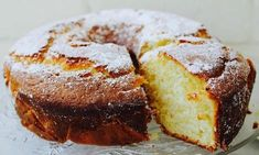 A moist cake that is quick to make.