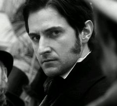 "Richard Armitage as John Thornton in ""North and South"" (BBC, Elizabeth Gaskell, Richard Armitage, Hobbit, North And South, John Thornton, Look Back At Me, Mr Darcy, Film Serie, Pride And Prejudice"