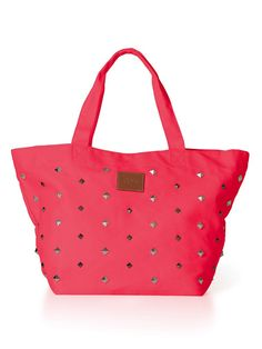 Studded Everyday Tote - PINK - Victoria's Secret