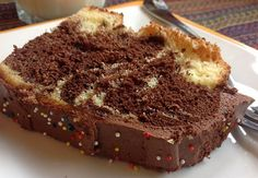 German Marble Cake brings back fond childhood memories for my daughters, as their Grandma Gertie always made Marble Cake for them. Whenever Grandma Gertie knew that company was coming over, German Marble Cake Recipe, Marble Cake Recipes, German Cake, Bunt Cakes, Cupcake Cakes, Cupcakes, Jamie Oliver, Just Desserts, Delicious Desserts