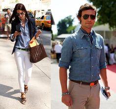 Come abbinare la camicia di Jeans? Ecco alcune idee