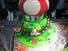 LOVE the mushroom on this one :)