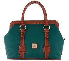 5c0564784d960 Dooney   Bourke Pebble Leather Satchel Handbag - Mitchell