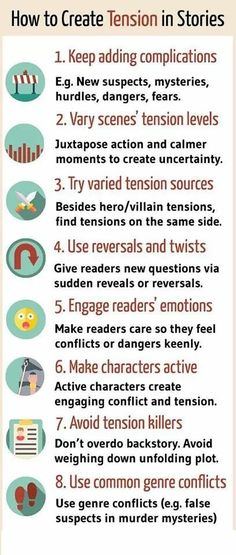 How To Create Tension In Stories