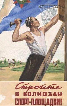 Bringing sports to the kolkhoz