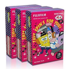 Fujifilm Instax Mini Sponge Bob Music 30 Film for Fuji 7s 8 25 50s 90 300 Instant Camera, Share SP-1 Printer Fujifilm http://www.amazon.com/dp/B010SC3D80/ref=cm_sw_r_pi_dp_33GYvb0EZ3EQ0