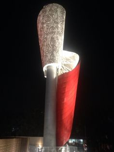 The Olympic Torch during the Beijing Summer Olympics