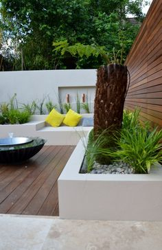 Share Tweet Pin Mail Modern Garden Design Outdoor Room With Kitchen Seating Hardwood Screen London Designer Contact anewgarden for more information
