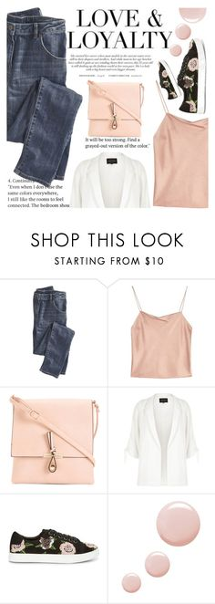 """""""Untitled #2523"""" by anarita11 ❤ liked on Polyvore featuring Wrap, Alice + Olivia, River Island, Rebecca Minkoff and Topshop"""