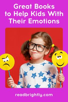 Learning to deal with emotions is an important part of growing up for kids. Here are some great books for helping kids manage their feelings. In A Funk, All The Feels, Toddler Books, Cheer Up, Kids Reading, Feeling Happy, Read Aloud, Great Books, Growing Up