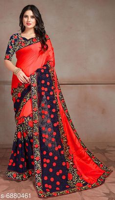 Sarees Trendy Sana Silk and georgette Sarees Vol 10 Saree Fabric: Sana Silk Blouse: Running Blouse Blouse Fabric: Art Silk Pattern: Embroidered Blouse Pattern: Embroidered Multipack: Single Sizes:  Free Size (Saree Length Size: 6.3 m) Country of Origin: India Sizes Available: Free Size   Catalog Rating: ★4.2 (477)  Catalog Name: Aakarsha Superior Sarees CatalogID_1098421 C74-SC1004 Code: 9131-6880461-