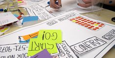 """Paper prototyping- is a variation of usability testing where representative users perform realistic tasks by interacting with a paper version of the interface that is manipulated by a person """"playing computer"""", who doesn't explain how the interface is intended to work."""