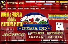 Temukan keseruan bermain poker online bersama duniaqq.com. Poker online yang mendukung pembayaran lewat BNI, BRI, BCA, Bank Danamon dan Bank Mandiri duniaqq.com menghadirkan permainan Poker, Domino 99, Capsa Susun, AduQ (Poker, QQ, Ceme, BlackJack). Dapat bermainan langsung pada situs/ website ataupun download aplikasi untuk android, ipone dan ipad. http://duniaonlineoke.blogspot.sg/2015/07/duniaqqcom-poker-online.html