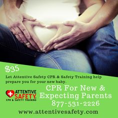 Attentive Safety CPR and Safety Training's CPR for New & Expecting Parents is a class that is tailored for new and expecting parents and caregivers. Nursing Mother, Safety Training, American Heart Association, Co Parenting, New Parents, Caregiver, Going Crazy, Anxious, New Baby Products