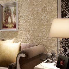 Diamante de Cristal de Luxo europeu Reunindo Não tecido 3D Papel De Parede 3D Rolo De Papel de parede, Sala de estar TV Papel de Parede Rolo Floral em Papéis de parede de Melhoramento Da casa no AliExpress.com | Alibaba Group