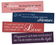 Printable Bookmarks  Harry Potter  Instant by AllTheBestQuotes, $3.50