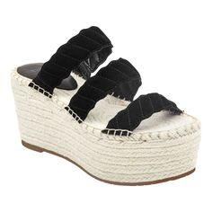 1fc3918dc553 Marc FisherEspadrilles · Braided straps heighten the chic look of the Rosie  espadrille sandal set on a jut-