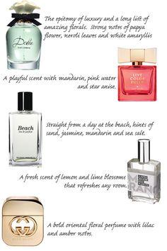top 5 favorite fragr
