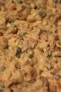 Russian Salad~ leftover turkey (or chicken), 10 pickles, 8 eggs, frozen peas and carrots (about 450 gr), 2 big potatoes, mayonnaise, 1 sour cream, salt.