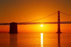Bay Bridge Sunrise by Matt B on 500px