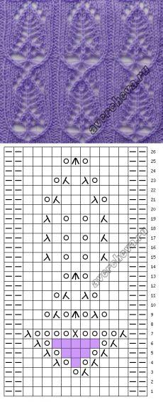 Patrón 735 |  patrón de tejer con agujas directorio