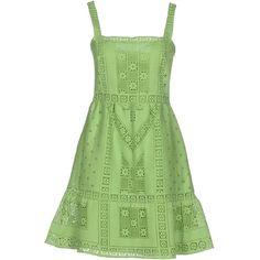 Valentino Short Dress (91.710 RUB) ❤ liked on Polyvore