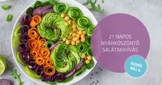 21 napos – nyárköszöntő salátakihívás Nap, 21st