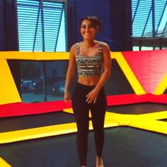 Pin for Later: Francia Raisa's Instagram Contains All the Motivation You Need to Get to the Gym When She Showed Us She's Secretly a Badass Gymnast Francia Raisa, Isabela Moner, Secret Life, American Actress, Latina, Instagram Feed, Fitness Inspiration, Gymnastics, Badass