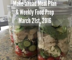 Make-ahead Meal Plan and Weekly Food Prep