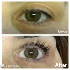 Permanent Curling and coloring eyelash