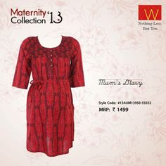 Expecting moms, how about you add some sizzle to your ensemble with this piece?  Own this here :http://shopforw.com/categoryProducts.php?catID=168&maincatName=Maternity&smallCat=Kurta