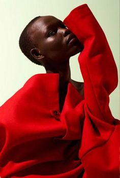 """Grace Bol in """"Your Love Runs Still """" for Contributor Magazine May 2012 , photographed by Dario Catellani"""